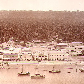 THE ROYAL NAVY CAPTURES BAGAMOYO ON 15th AUGUST 1916