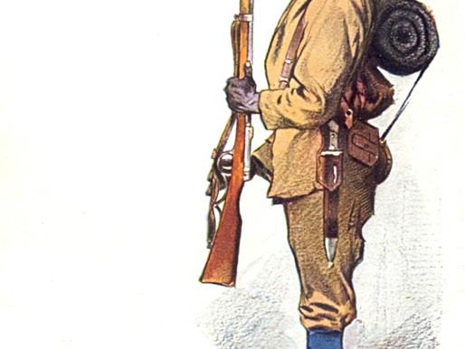 TOO HOT TO HANDLE - LOSING MACHINE GUNS TO THE GERMANS AT SALAITA