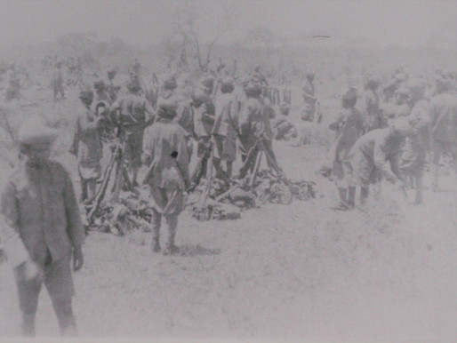 SAVING THE GENERAL - AN INDIAN OFFICER LAYS DOWN HIS LIFE
