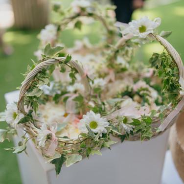 Cesta Pétalas - Fotografia por: Rui Teixeira Wedding Photography