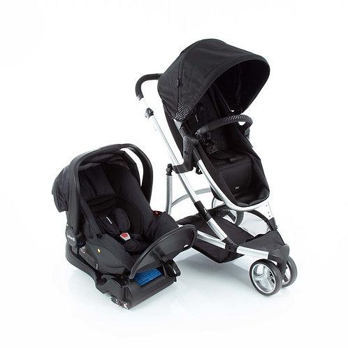 Travel System Sky Trio com bebê conforto Isofix Preto - Infanti
