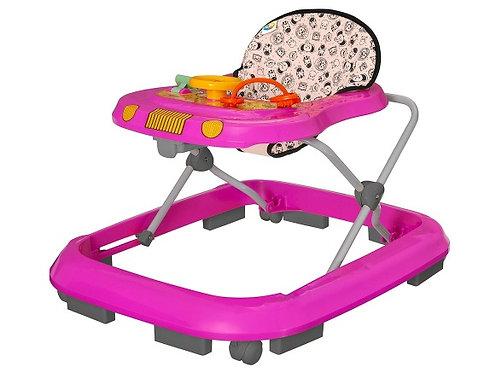 Andador Safari Rosa - Tutti Baby