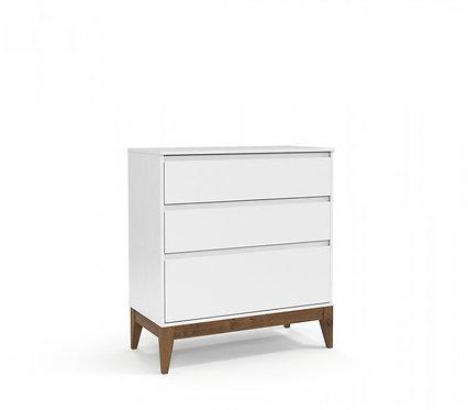 Gaveteiro Nature Clean branco - Matic Móveis