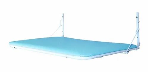 Trocador Dobrável (Articulada) de Parede Azul - Nino's