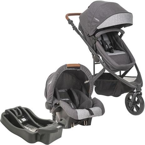 Travel System Trek com bebê conforto cozycot click - Kiddo