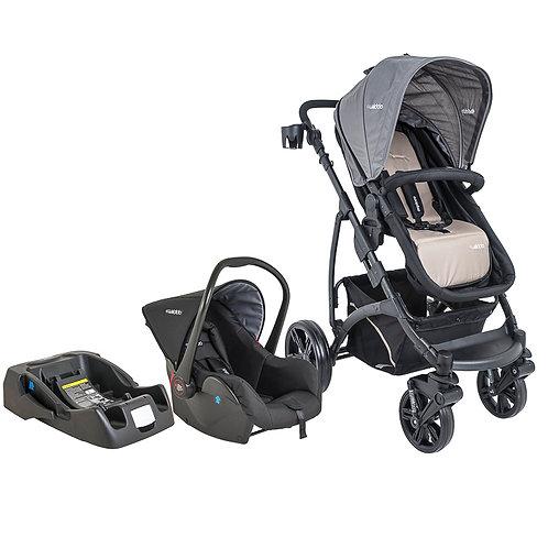 Travel System Explore com bebê conforto Casulo click Bege - Kiddo