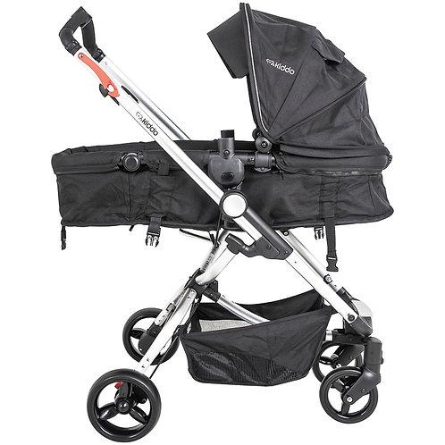 Travel System Eclipse com bebê conforto Casulo click Preto - Kiddo