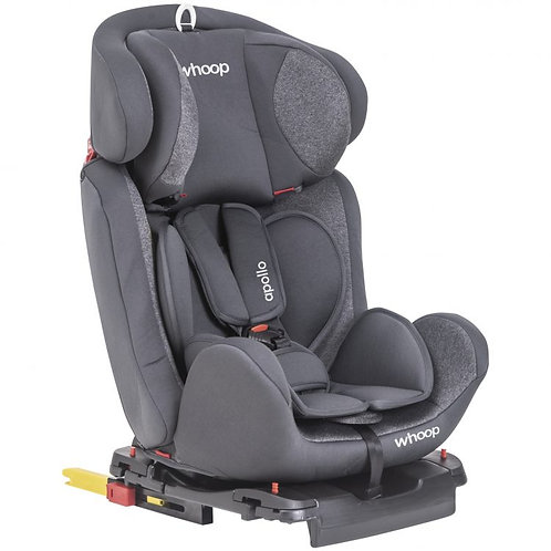 Cadeira para auto Apollo Isofix Cinza - Kiddo Whoop