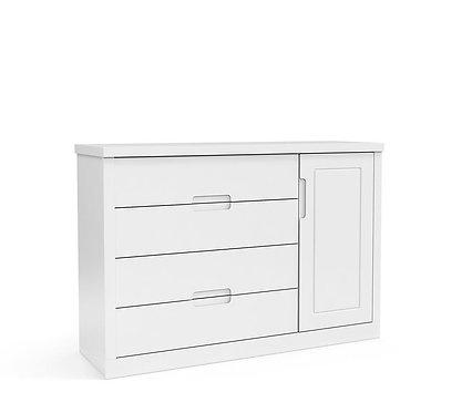 Cômoda Tutto New branco - Matic Móveis