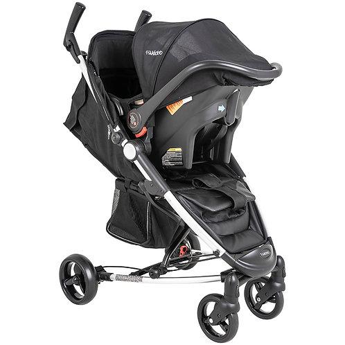 Travel System Helios II com bebê conforto Casulo click Preto - Kiddo