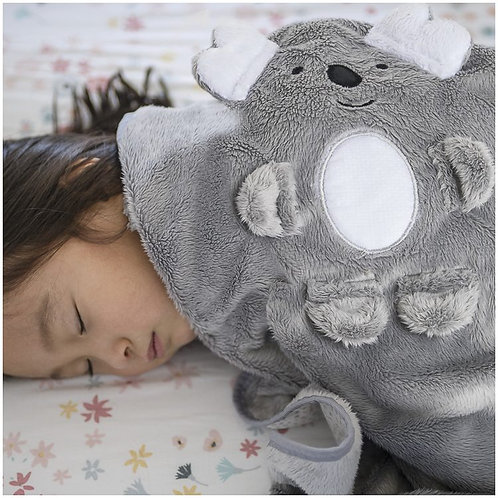 Cobertor infantil Buddy Cinza - Kiddo