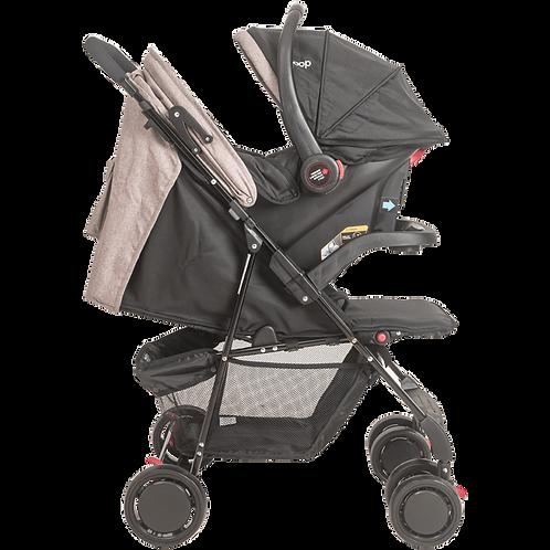 Travel System Street com bebê conforto Pod Bege - Kiddo Whoop