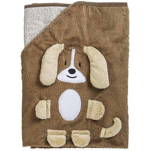 Cobertor infantil Buddy Marrom - Kiddo
