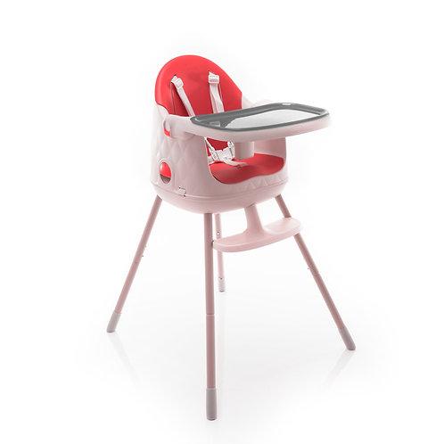 Cadeira de alimentação Jelly Vermelho - Safety
