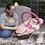 Thumbnail: Cadeirinha de descanso Joy rosa - Kiddo