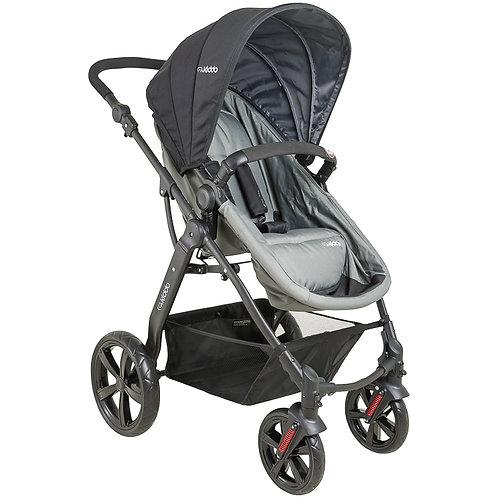 Travel System Galaxy com bebê conforto Casulo click Cinza - Kiddo