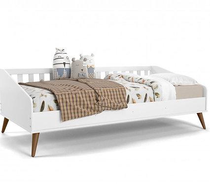 Cama Babá Retrô branco - Matic Móveis