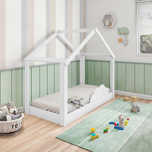 Mini Cama Montessoriana Tiny House - Pura Magia