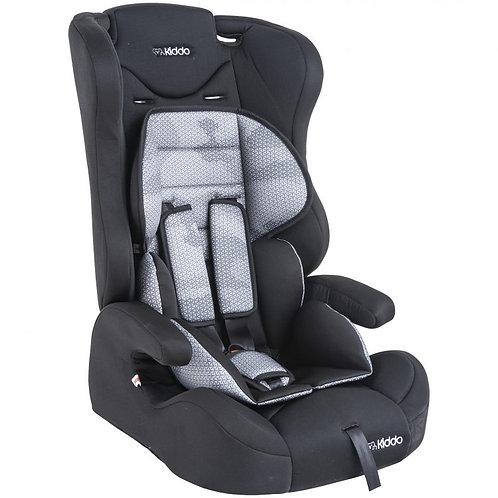 Cadeira para auto City Isofix Preta - Kiddo
