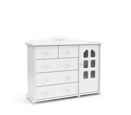 Cômoda Provence Plus branco - Matic Móveis