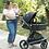 Thumbnail: Travel System Quantum com bebê conforto Casulo click Cinza - Kiddo