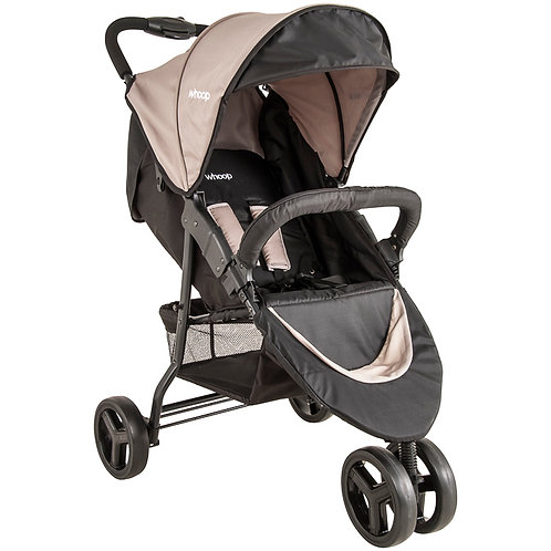 Travel System Trio com bebê conforto Cozycot Bege - Kiddo Whoop