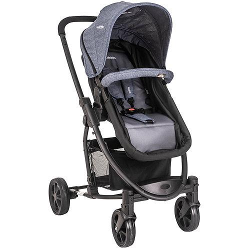 Travel System Prima com bebê conforto Casulo click Azul - Kiddo