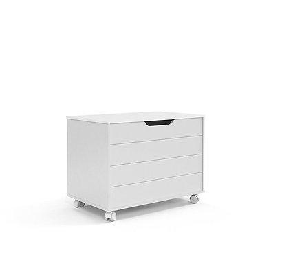 Baú Toy branco - Matic Móveis