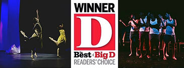 DGDG wins Best Dance Company in 2016 by D Magazine.