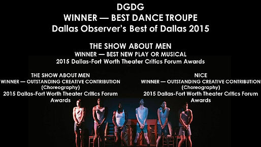 A variety of awards that DGDG won in 2015.