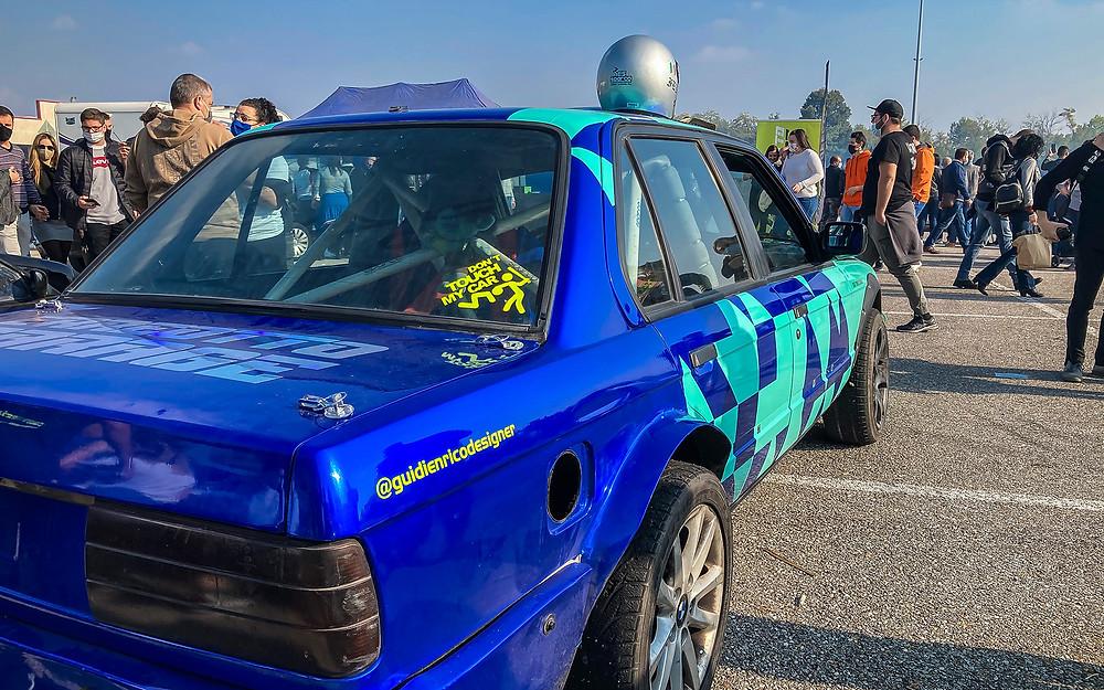 La BMW 325i E30 di Massimiliano Rossi