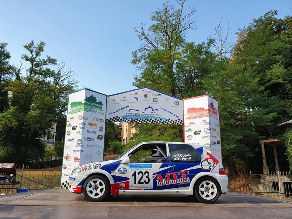 Fabio Oppici al Rally di Salsomaggiore Terme
