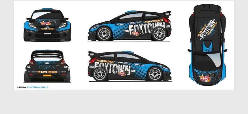 La livrea ufficiale della Ford Fiesta WRC di Paolo Porro