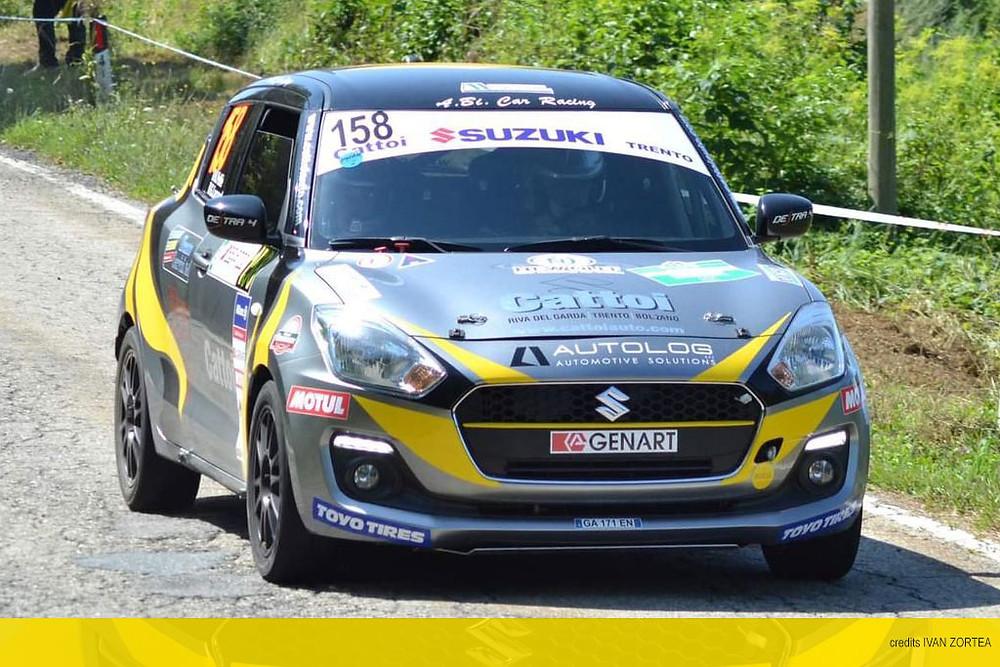 Roberto Pellè al Rally di Alba