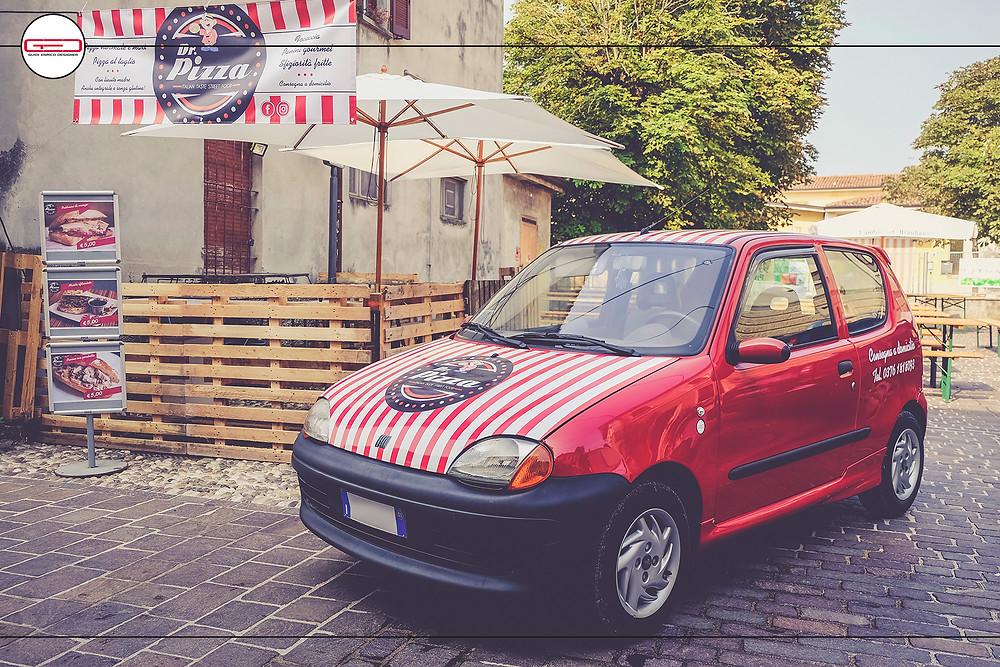 Il veicolo di Dr. Pizza - Italian Taste Street Food