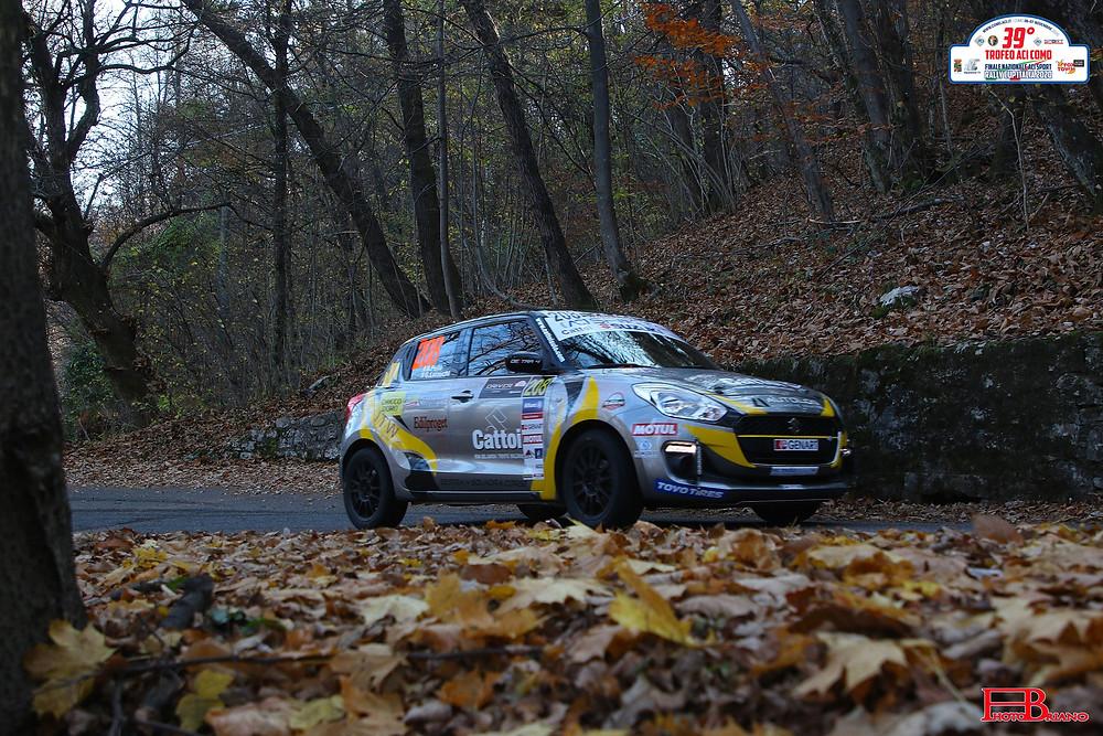 R. Pellè - G. Luraschi su Suzuki Swift 1.0 RS (Foto di PhotoBriano)