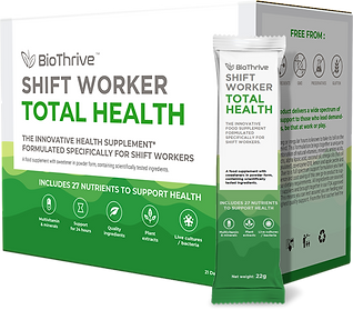 BioThrive | Shift Worker | Total Health | Supplement