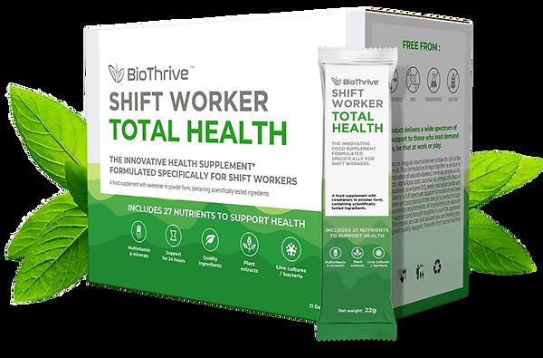BioThrive | Shift Worker | Total Health | Supplement