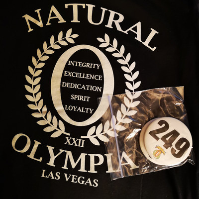 Natural Olympia 2019 Registratiedag