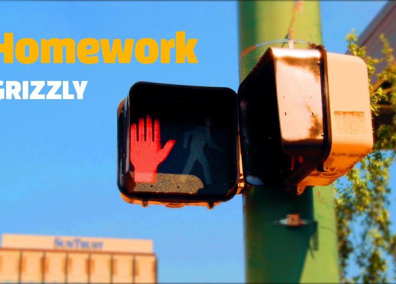 그리즐리(Grizzly) - Homework [Official Lyric Video]