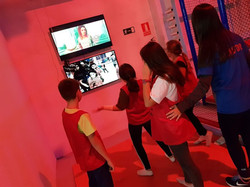 Baile y karaoke