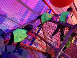 Zona Ninja- paso de obstáculos