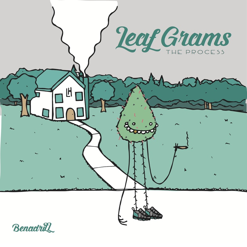 Leaf Grams: The Process