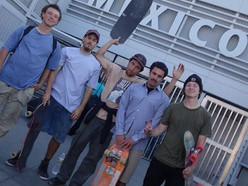 1,600-Mile Skateboard Trip 2 Mexico! #GreatSkateBoys