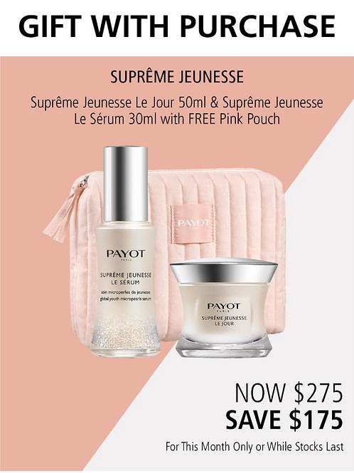 Supreme Jeuness Le Jour and Supreme Jeunesse Le Serum