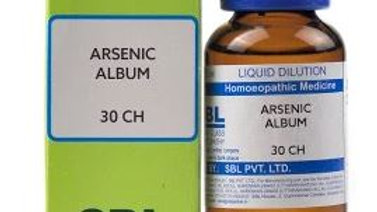SBL Arsenicum Album Dilution 30