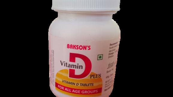 Bakson's Vitamin D Plus Tablets