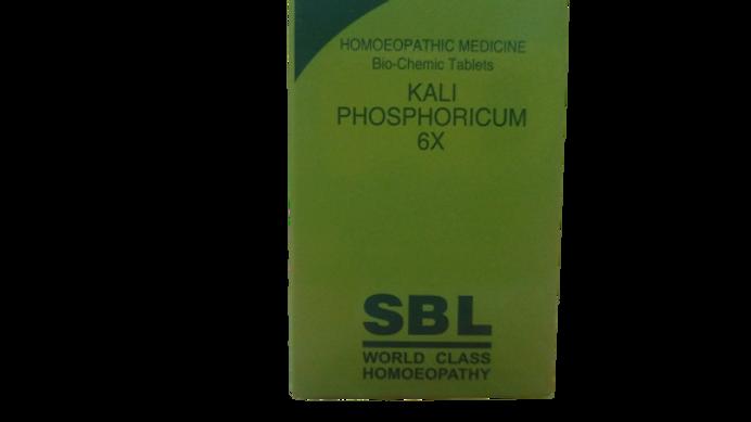 SBL Kali Phosphoricum Biochemic Tablet 6X