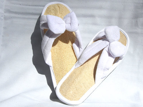 Heavenly Spa Loofah Slippers