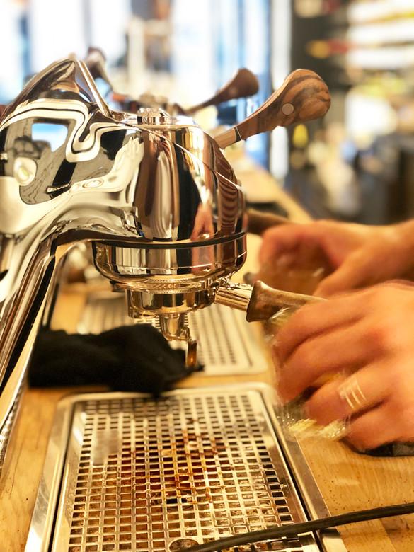 Modbar, the best coffee..